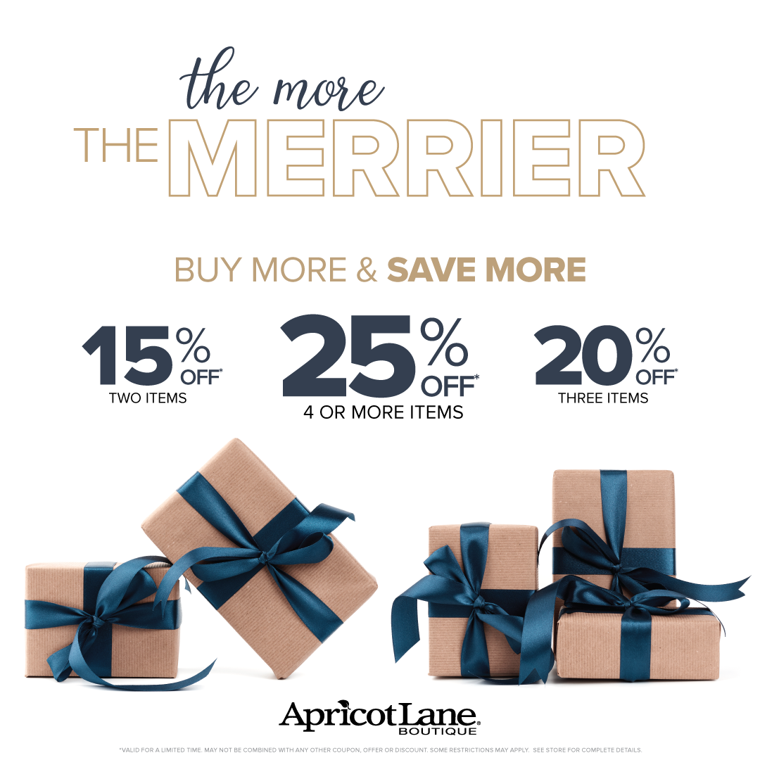 The More The Merrier from Apricot Lane Boutique