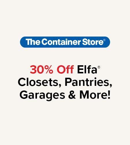 Elfa Sale 12/16 - 2/23
