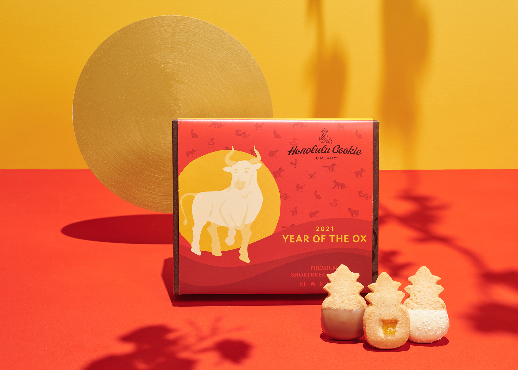 The Year of the Ox from Honolulu Cookie Company