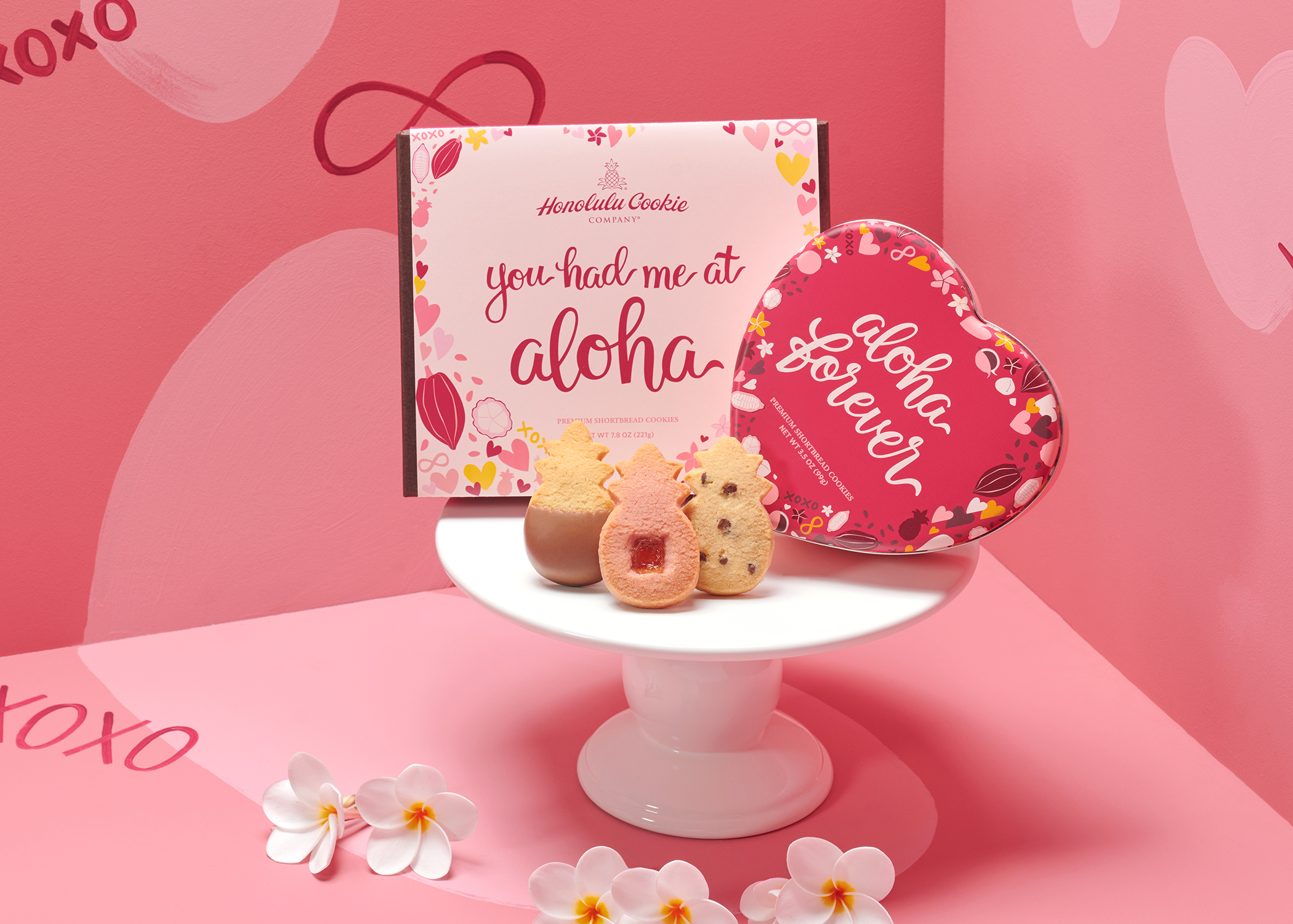 2021 Valentine's Collection from Honolulu Cookie Company