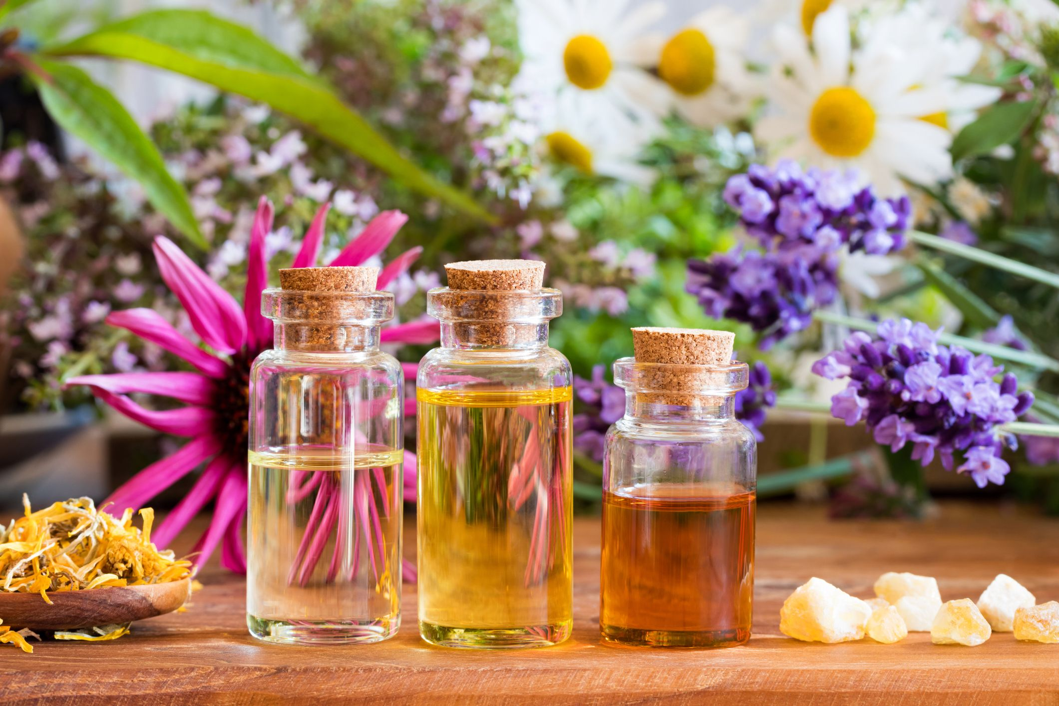 Essential Oils for Better Health from Sheer Treasures
