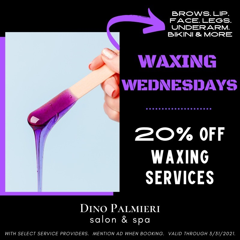 Waxing Wednesdays from Dino Palmieri
