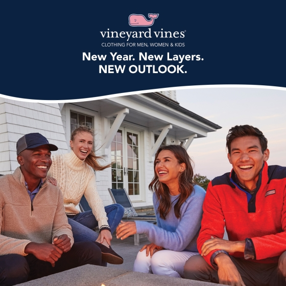 New Year. New Layers. New Outlook from Vineyard Vines