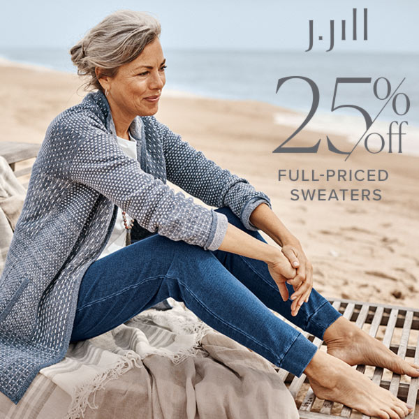 25% off Full-Priced Sweaters*