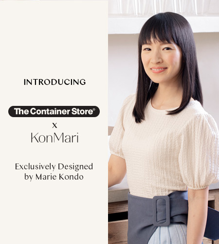 Introducing Marie Kondo Collection from The Container Store