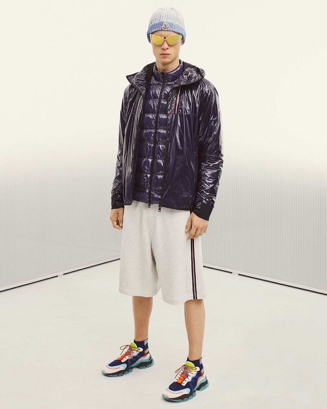 MONCLER COLLECTION SS21 HOLDING COURT
