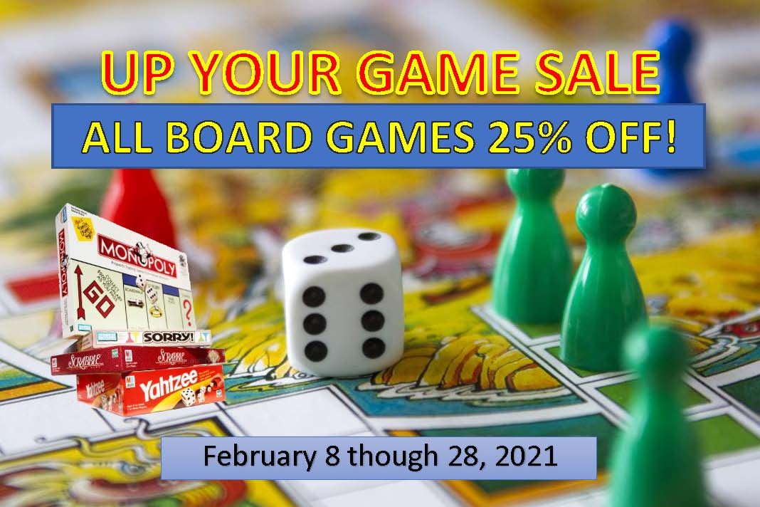 Board Game Sale! from Optimus Toys