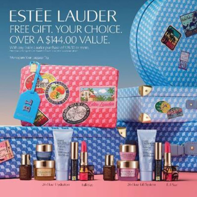 Estee Lauder Spring Gift with Purchase from macy's