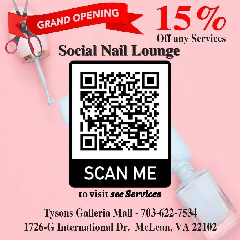 15% Off Any Service from Social Nail Lounge