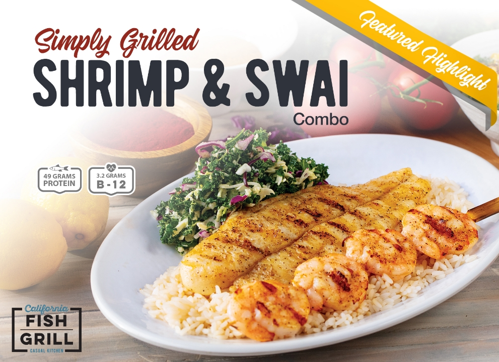 Limited time only from California Fish Grill
