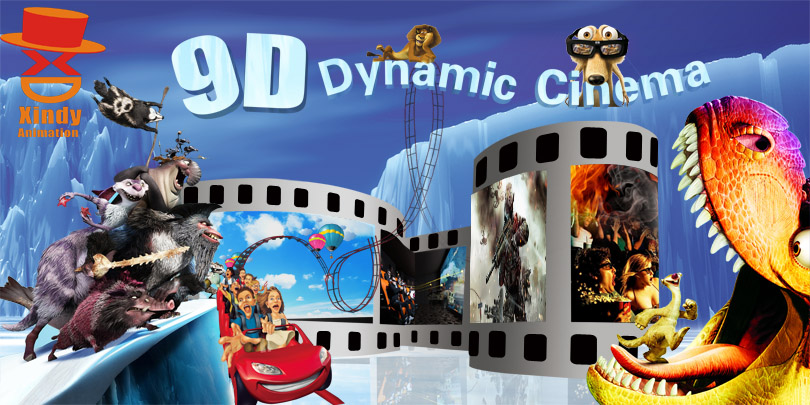 Newly opened for your entertainment 9D Cinema from 9d Cinema Vr