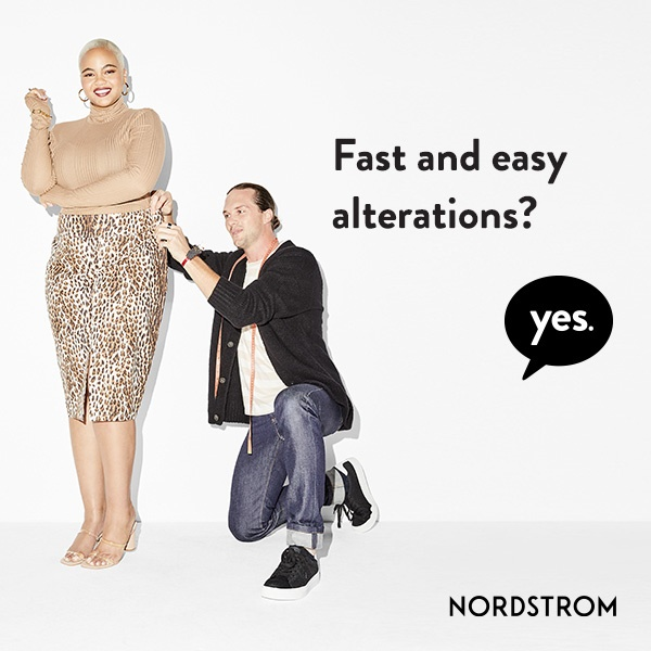 Alteration Services from Nordstrom