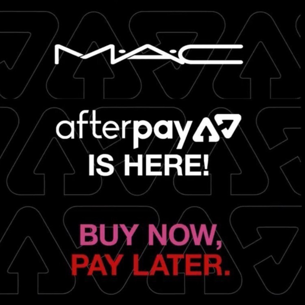 afterPAY from MAC Cosmetics