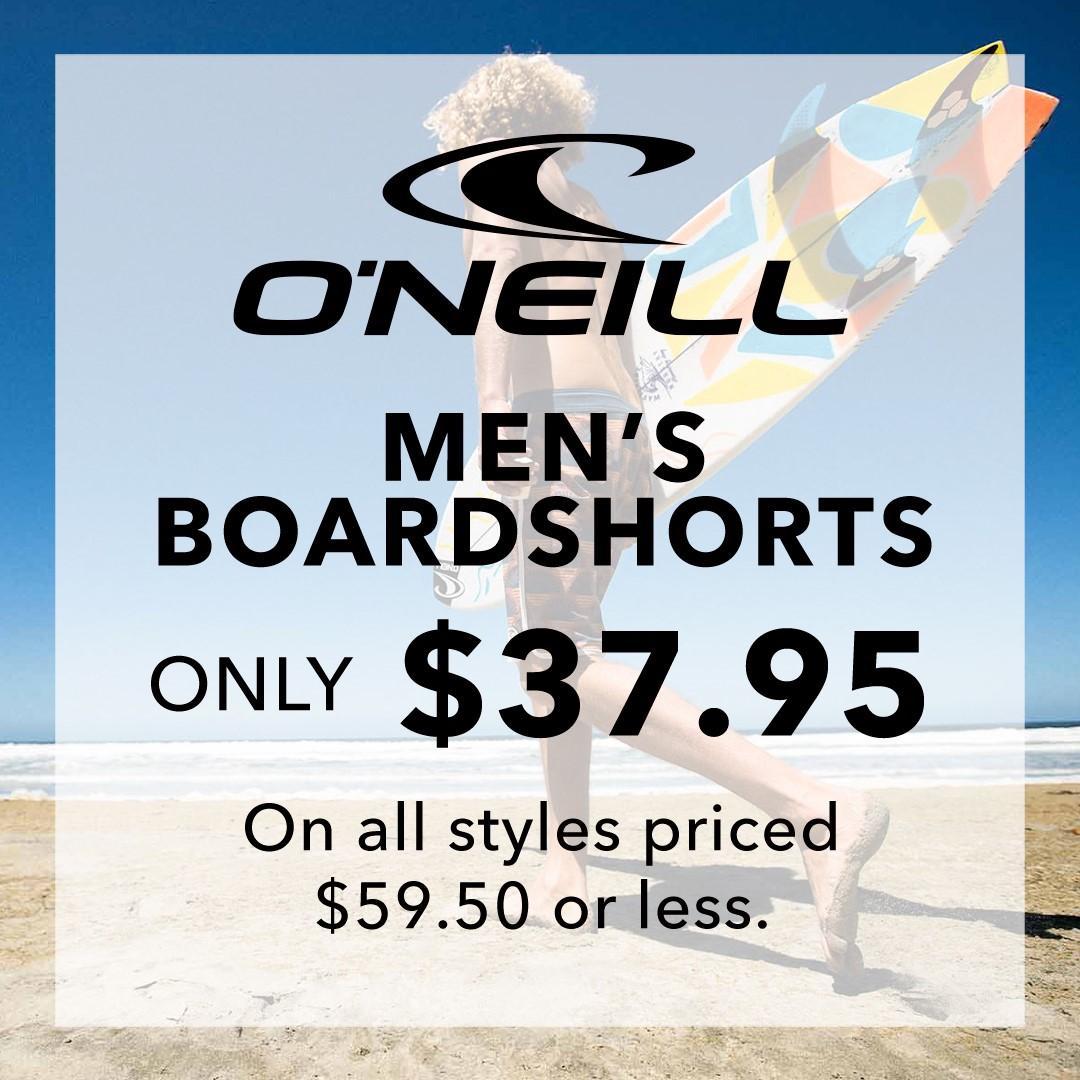 O'Neill Men's Boardshorts from Hawaiian Island Creations