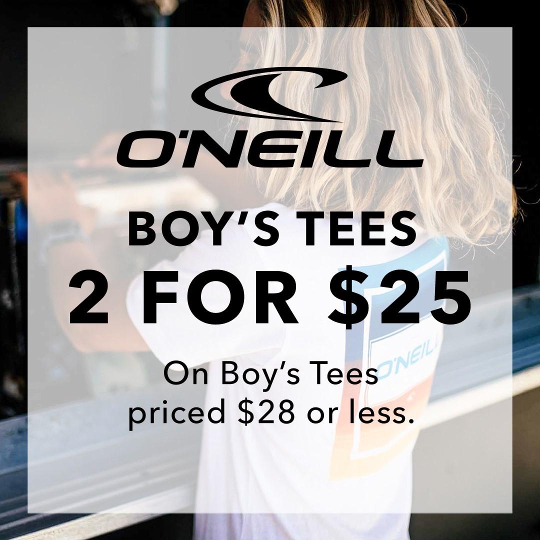 O'Neill Boy Tees from Hawaiian Island Creations
