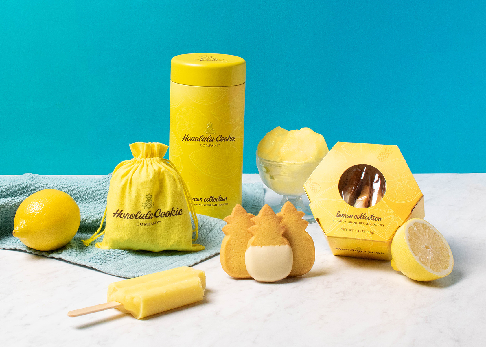 Lemon Collection from Honolulu Cookie Company