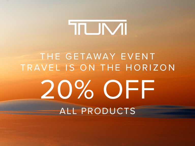 The Getaway Event from TUMI