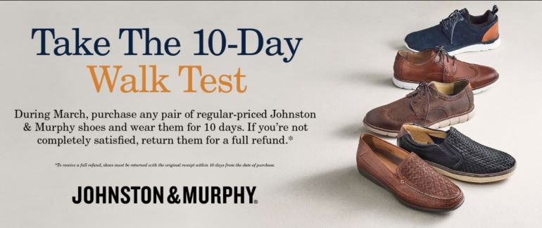 10-Day Walk Test from Dillard's