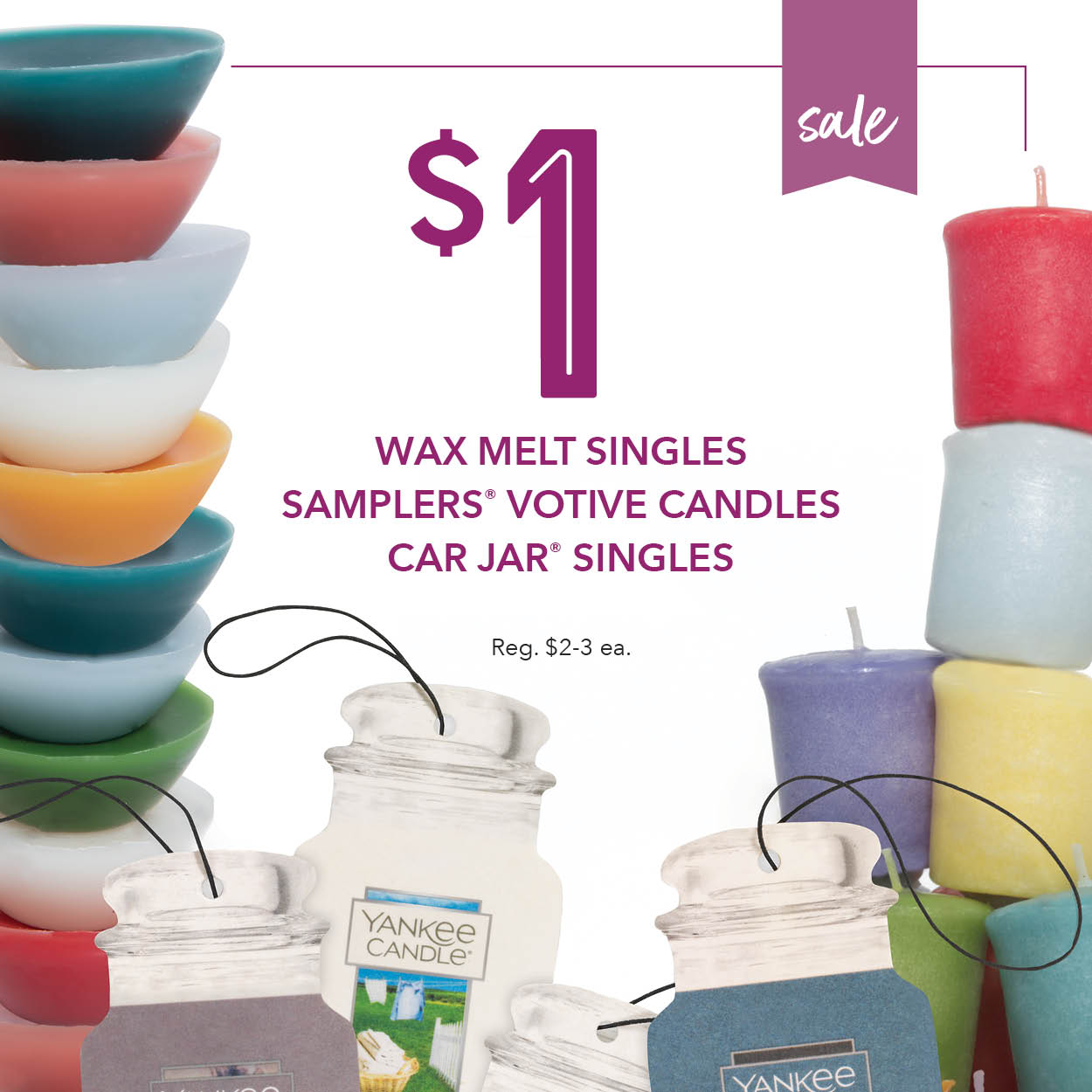 Yankee Candle - $1 Wax Melts!