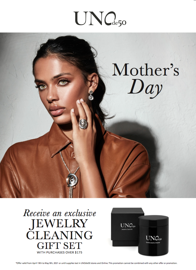 Mother's Day GWP from Uno De 50