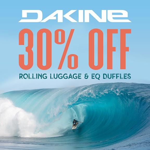 30% Off Dakine Luggage from Hawaiian Island Creations