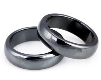 Hematite Rings from Sheer Treasures