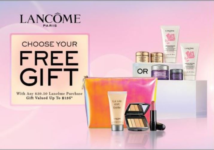 Lancome Free Gift from Dillard's