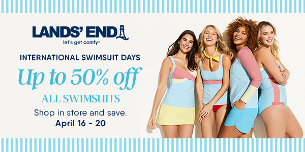 International Swimsuit Days from Lands' End