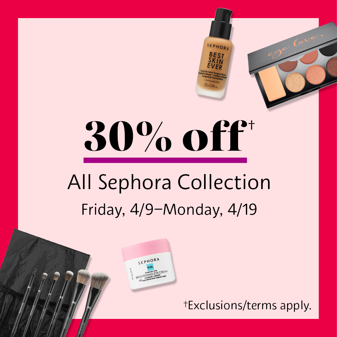 30% off! from Sephora