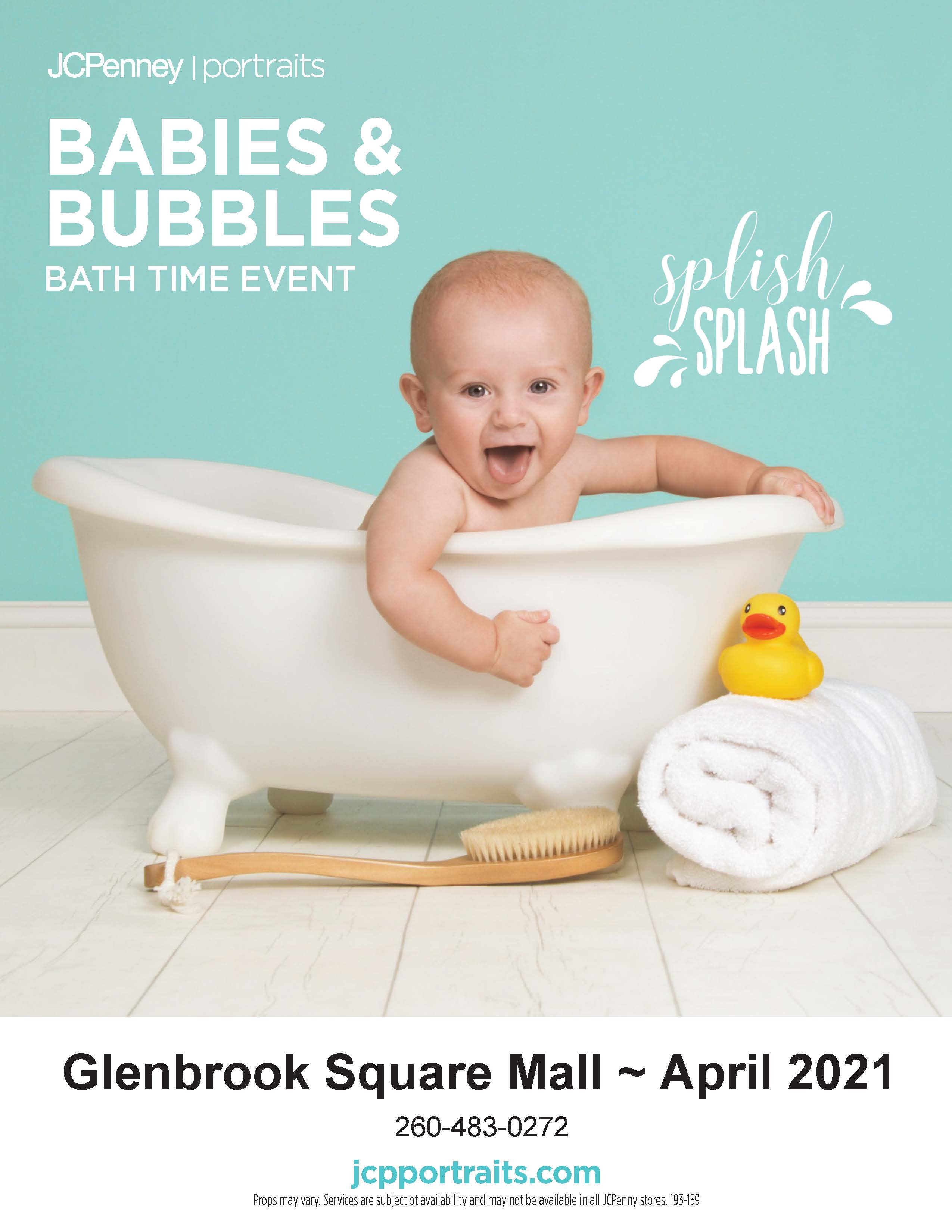 Babies and Bubbles Event from JCPenney