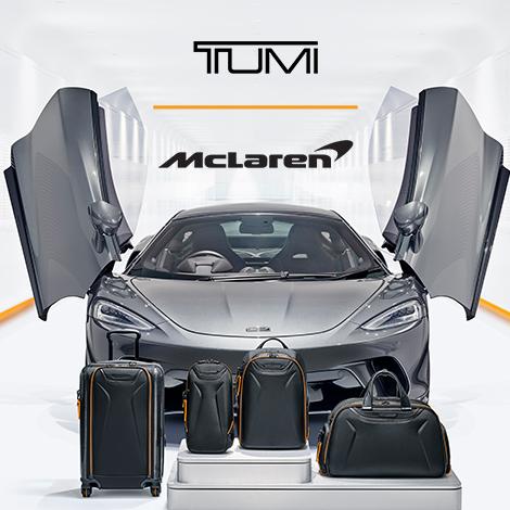 TUMI | McLaren – Performance with Purpose