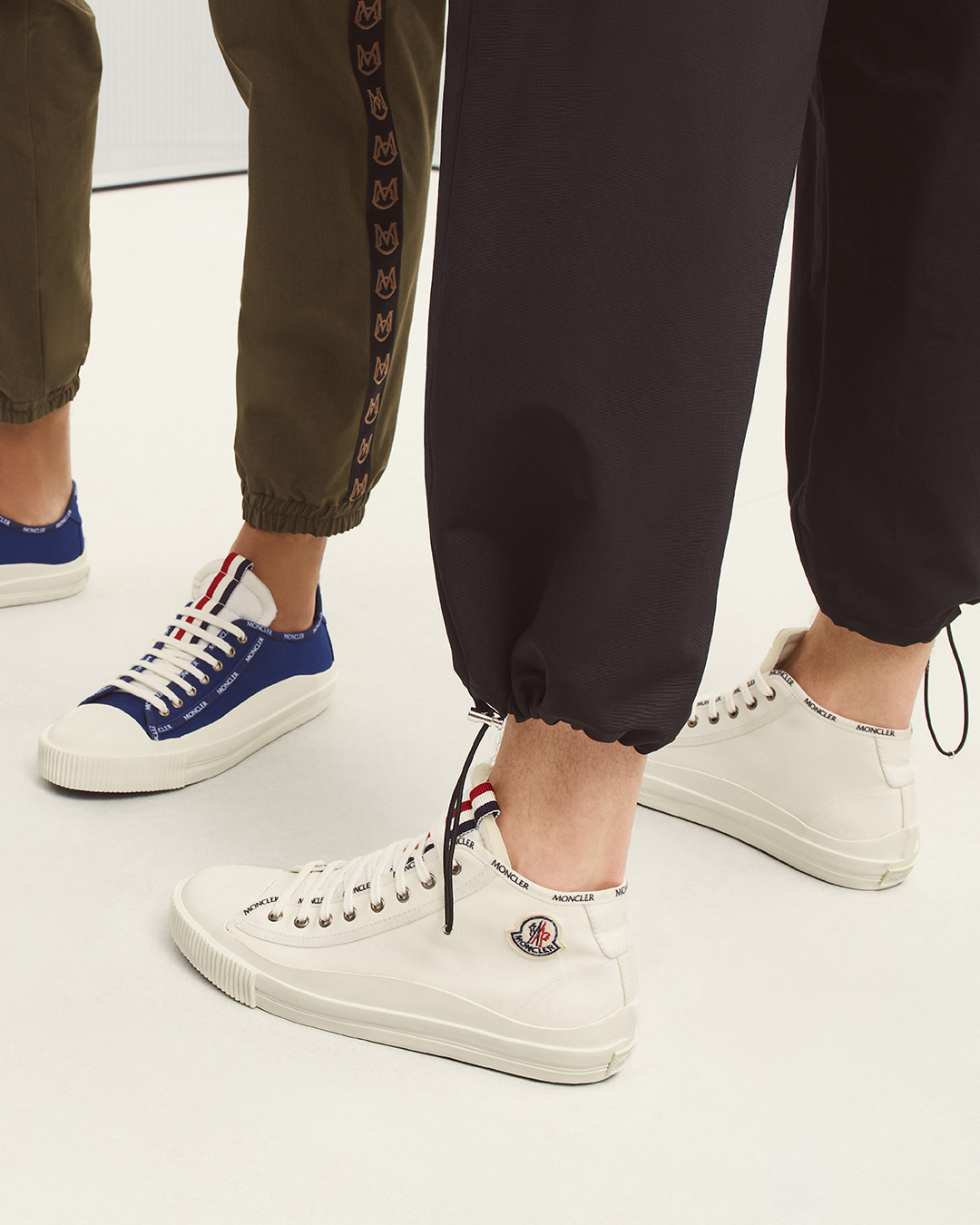 New range of sneakers with city smart vulcanized soles from Moncler