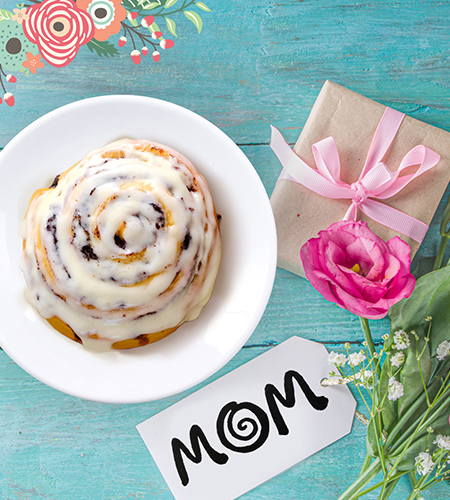 Celebrate Mom this Mother's Day! from CINNABON