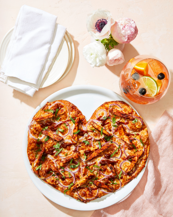Heart Shaped Pizza from California Pizza Kitchen