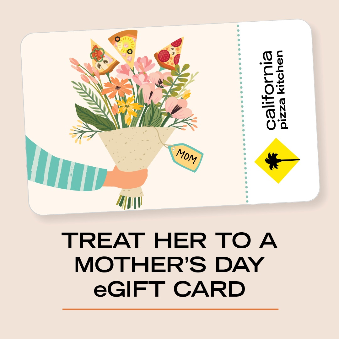 eGift Card Fundraiser from California Pizza Kitchen