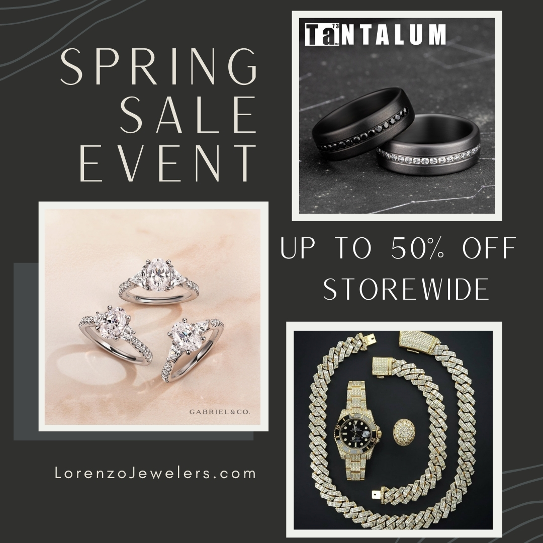 Spring Sale from Lorenzo Jewelers