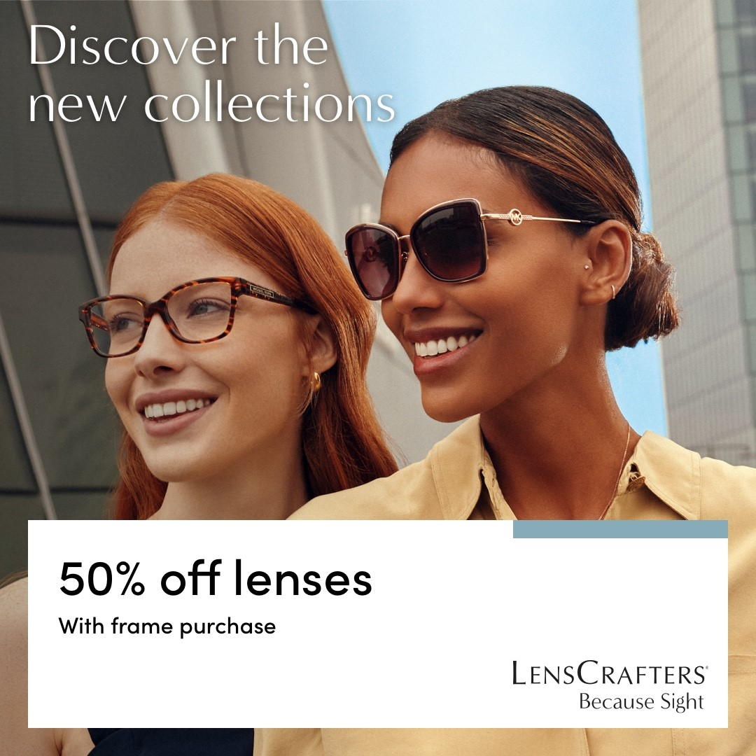 Discover the new collections at Lenscrafters