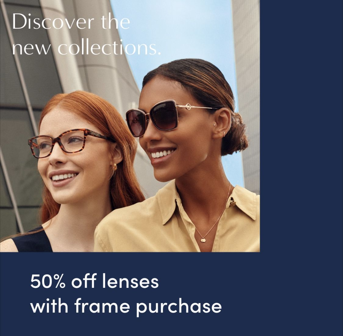 Discover the New Collections Sale! from LensCrafters