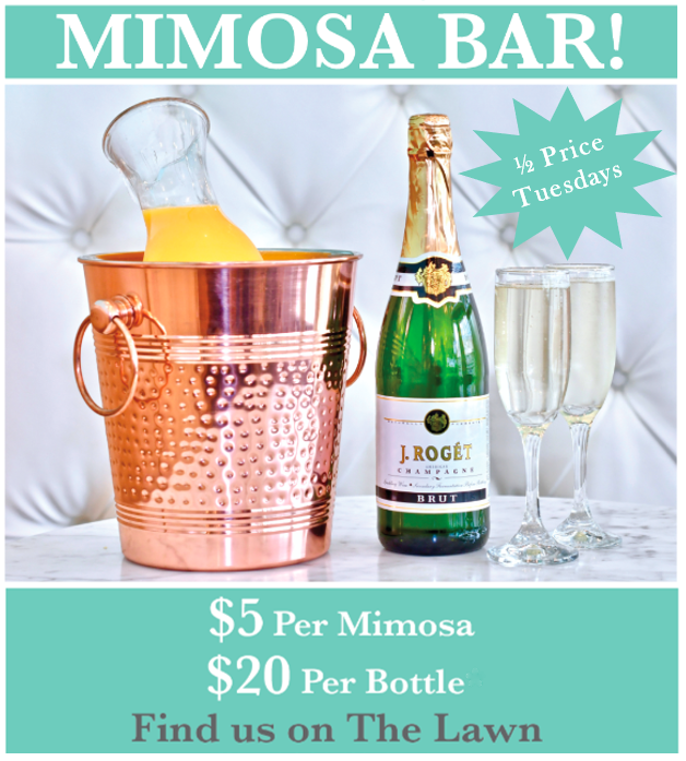 Mimosa's 1/2 Tuesday's! from Sweet Paris Creperie & Cafe