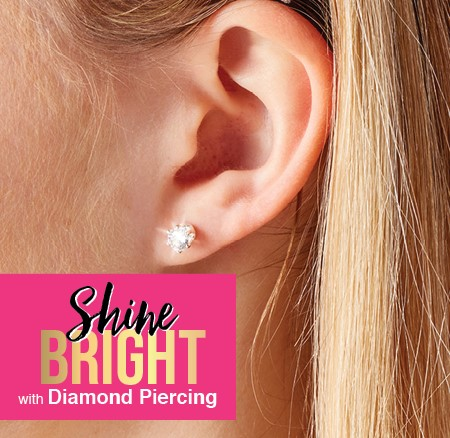 Ear Piercing Available - Claire's & Icing