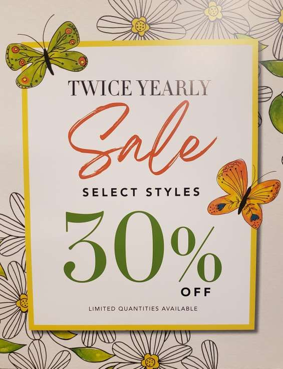 Twice a Year Sale from Brighton Collectibles