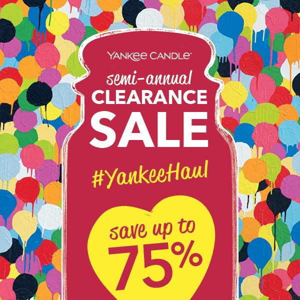 Yankee Candle Semi-Annual Sale
