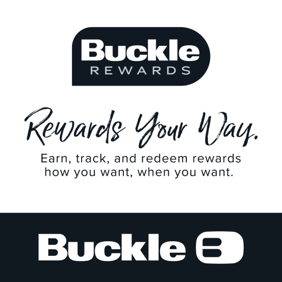 """""""Buckle's Rewards your way"""" from Buckle"""