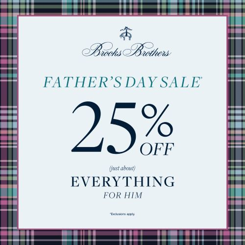 Father's Day Sale from Brooks Brothers