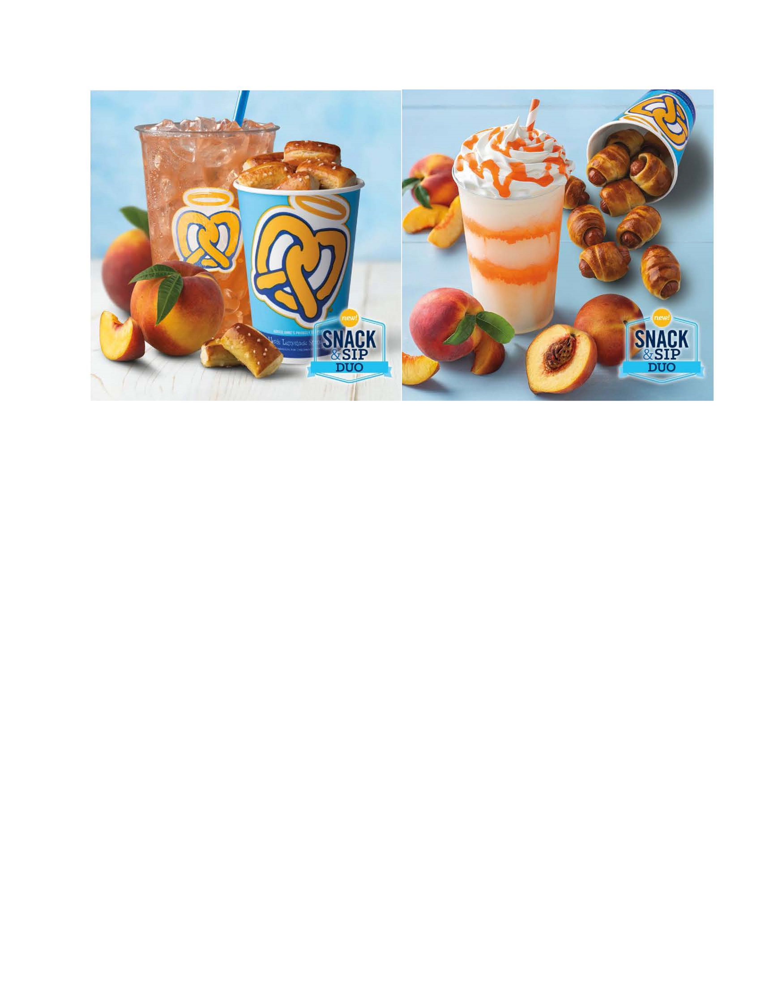 Snack and Sip Duo from Auntie Anne's