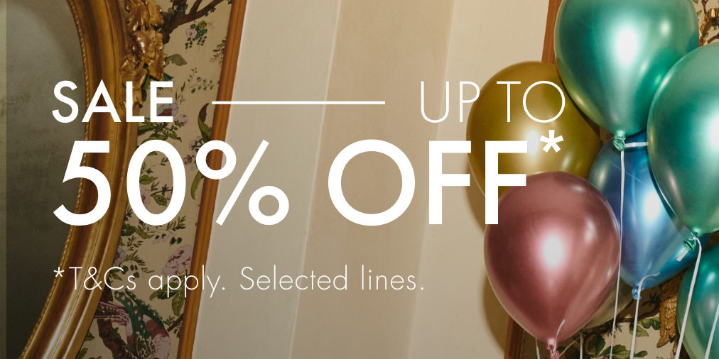 Enjoy up to 50% off from Ted Baker London