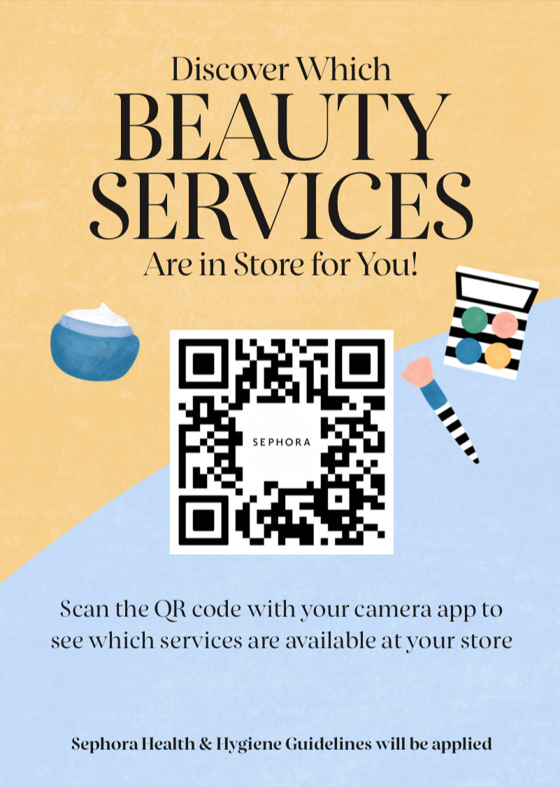 Discover Which Beauty Services Are In Store For You from Sephora