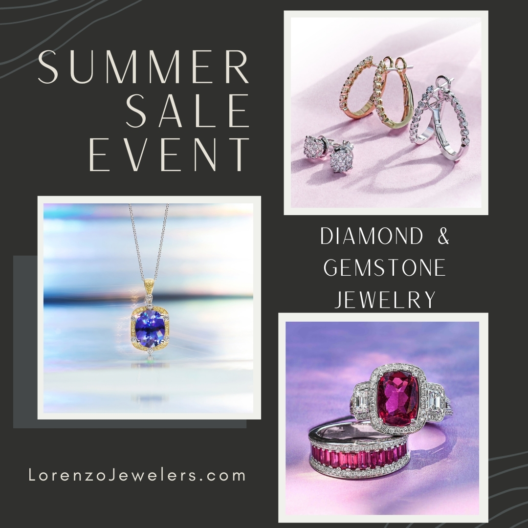 Summer Sale Event from Lorenzo Jewelers