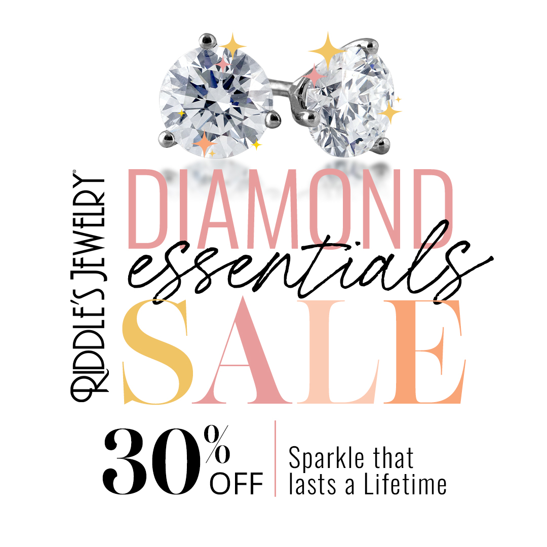 Stay SPARKLING this summer! from Riddle's Jewelry