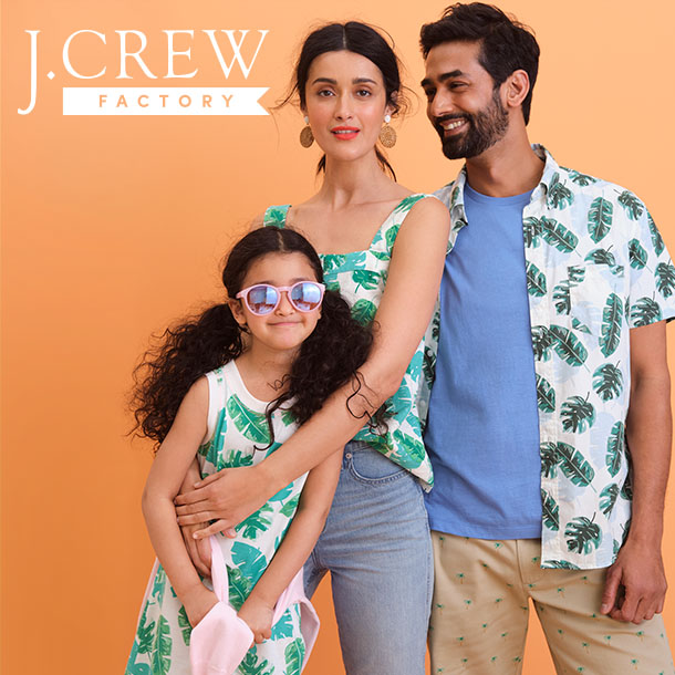 UP TO 60% OFF STOREWIDE + EXTRA 60% OFF CLEARANCE AT J.CREW FACTORY! from J.Crew Factory